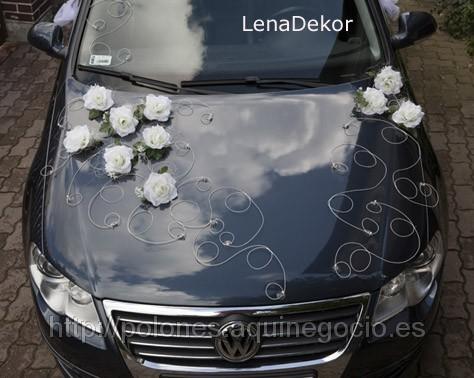 Decoraci n para el coche tu boda de ensue o - Decoracion coche novia ...